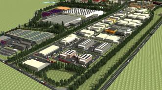 В Дагестане строится первый индустриальный парк «Кристалл Сити»