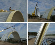 Проект овощехранилища на базе бескаркасного арочного сооружения на 2 500 тонн