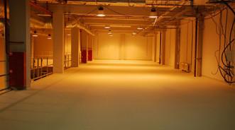 Полимерные полы для склада фармацевтической продукции