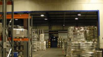 Проект индукционного освещения складов продукции пивоваренной компании «ЗАО Пивоварня Москва Эфес»