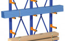 Консольные стеллажи для склада стройматериалов