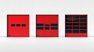 Промышленные подъемно-секционные ворота от Crawford