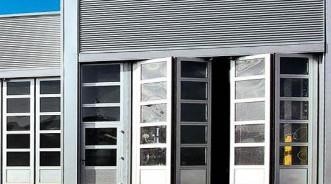 Обзор откатных и складных ворот от компании Hormann