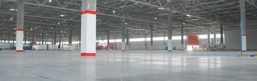 Промышленные полы в складских помещениях