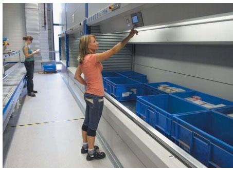 Автоматизированные склады и системы хранения KARDEX