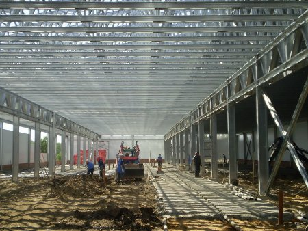 каркасное строительство сельскохозяйственных объектов