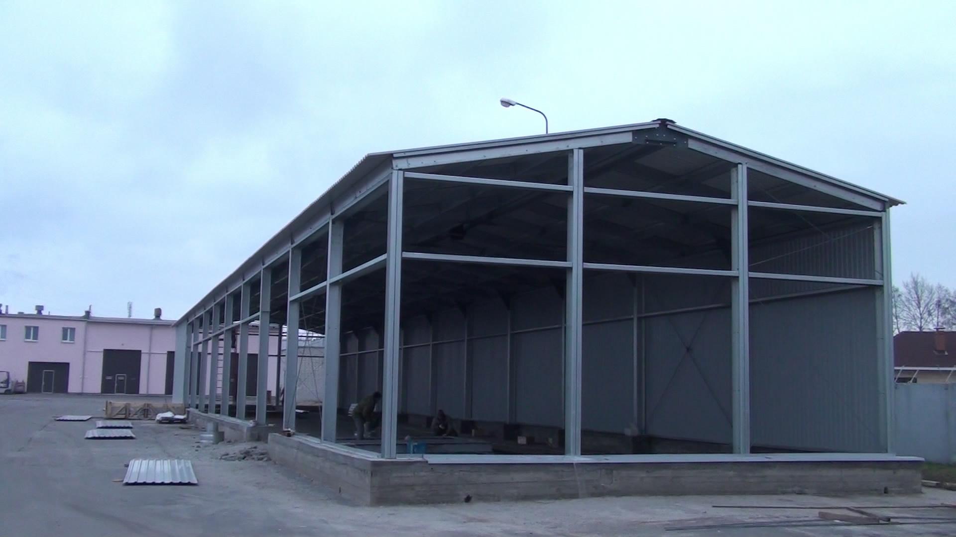 Ангар 500 кв метров цена