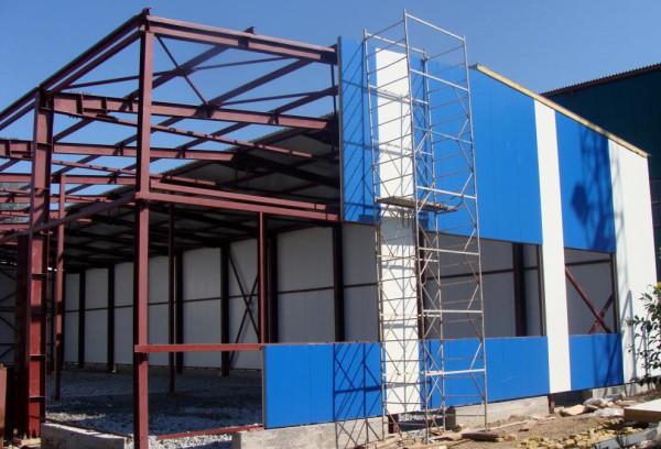 Cтоимость строительства складских помещений
