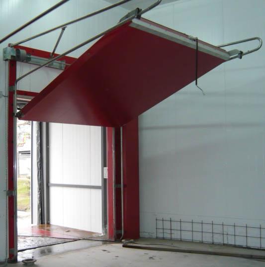 ворота и двери для холодильных складов