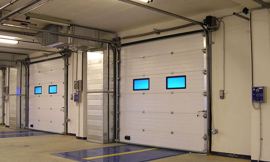ворота складские секционные