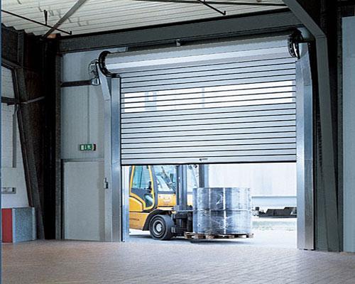 рулонные ворота для складских помещений