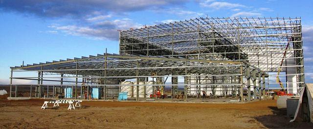 Каркасное строительство из ЛМК