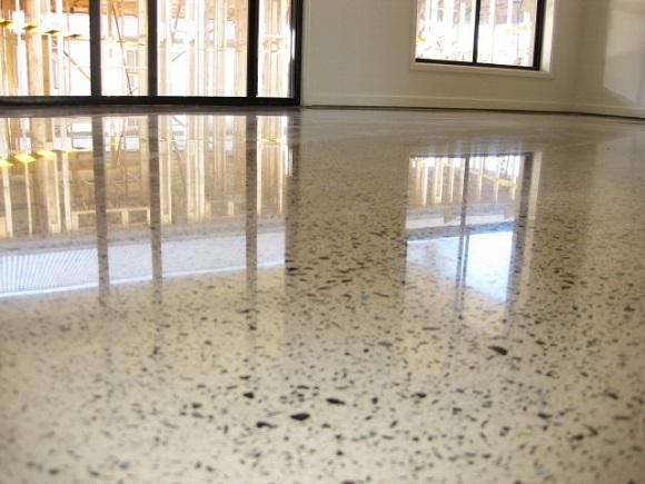 выбор чистящих средств для полированных бетонных полов