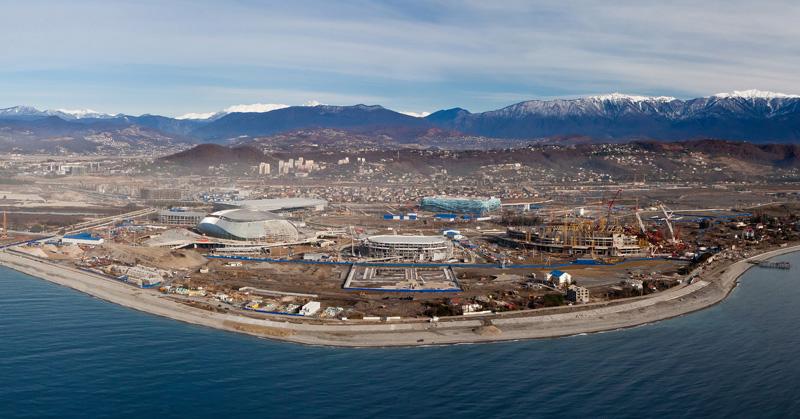 Использование каркасной технологии и сэндвич панелей при строительстве Олимпийского поселка в СОЧИ