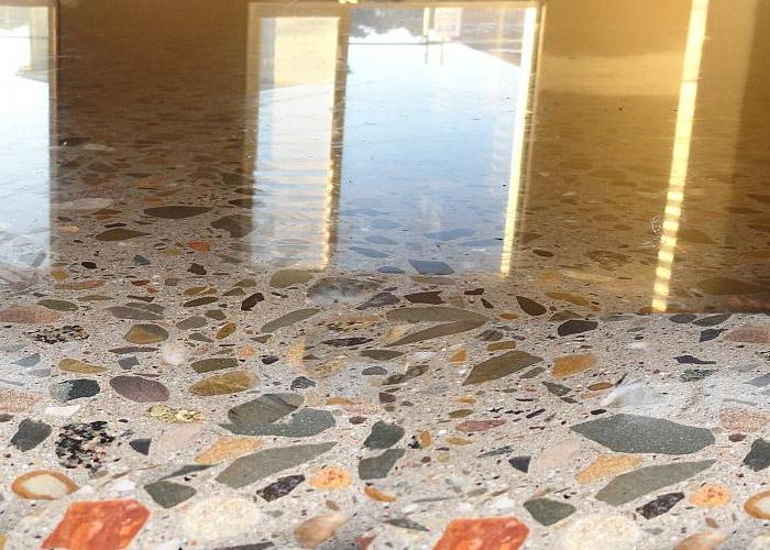 бесшовные мозаичные полы