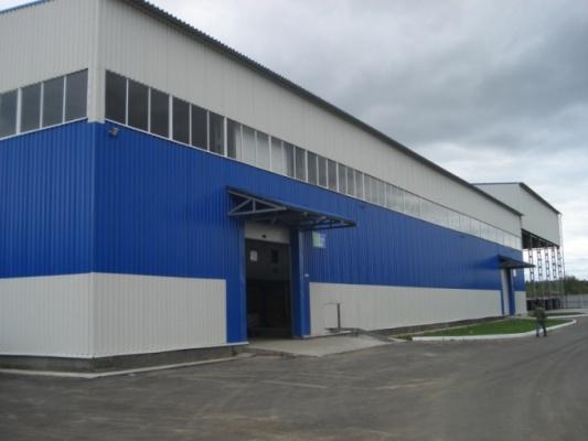 Строительство складов из ЛСТК — технология возведений каркасных объектов