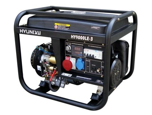 Генераторы Hyundai HY9000LE-3