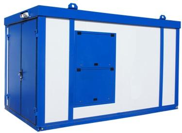 Дизельная электростанция в стандартном блок контейнере «Север»