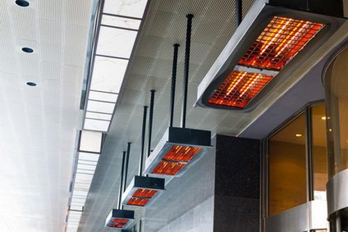 Выбор инфракрасной тепловой завесы промышленного типа для склада