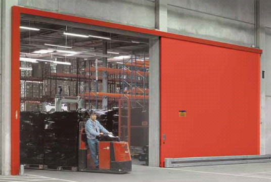 Особенности устройства противопожарных откатных ворот Doorhan и Hormann