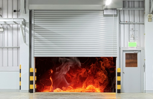 Противопожарные ворота различного класса огнестойкости