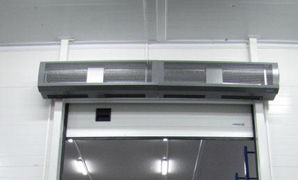 Тепловые завесы Тепломаш с электрическим источником тепла