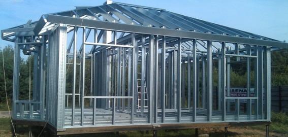 Картинки по запросу Каркасное строительство из стальных термопрофилей: