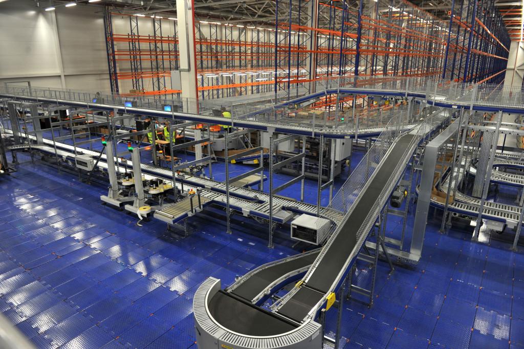 самая длинная в Европе линия автоматической сборки A-Farme на 1700 каналов