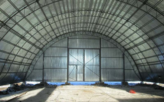 Арочное зернохранилище