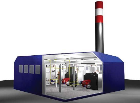 Блочно-модульная котельная установка