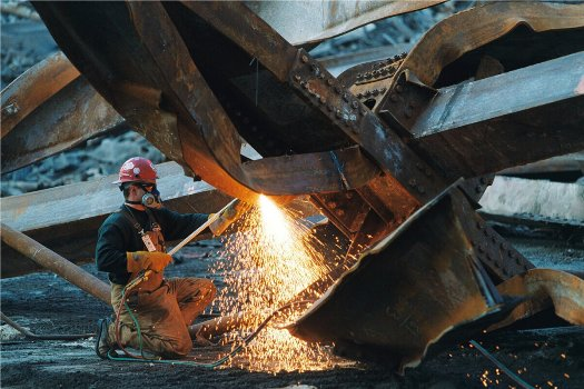 Технология демонтажа металлоконструкций