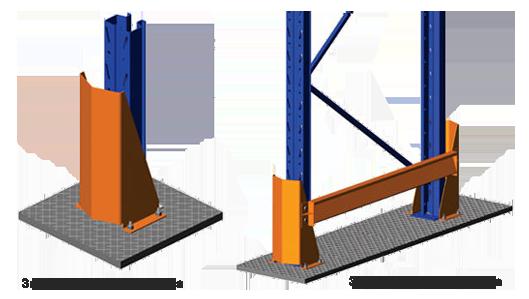 Дополнительные элементы стеллажей — как повысить надежность складского оборудования