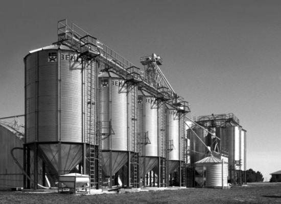 Зернохранилище вертикального типа