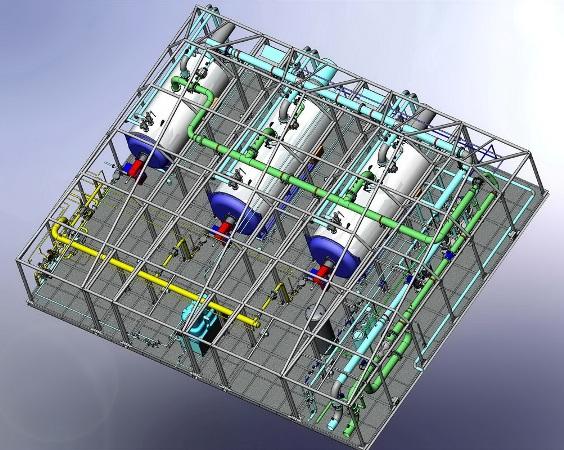 Конструкция блочно-модульной котельной