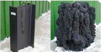 Огнезащитное покрытие из графита