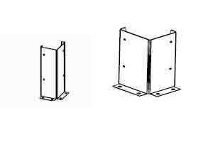 Угловые ограждающие конструкции
