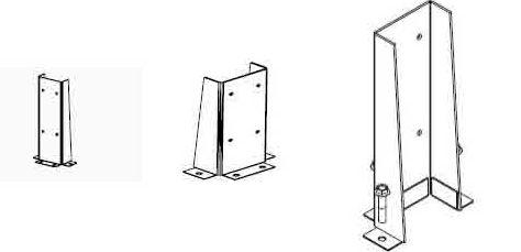 Фронтальные ограждающие конструкции
