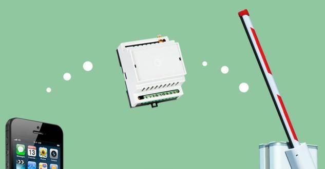 GSM модули для управления шлагбаумам