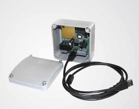 GSM модуль со снятой панелью