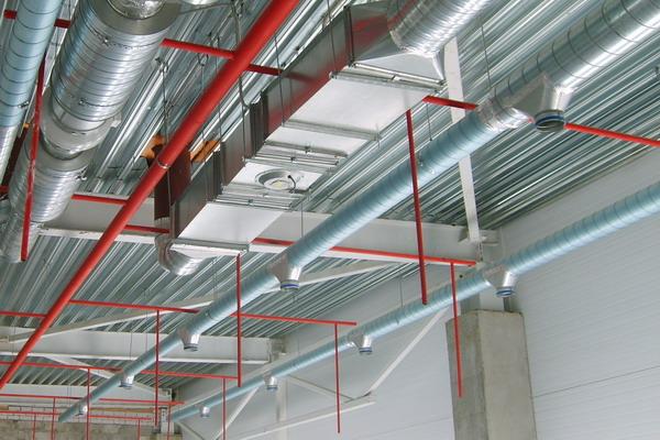 Системы кондиционирования и вентиляции складских помещений