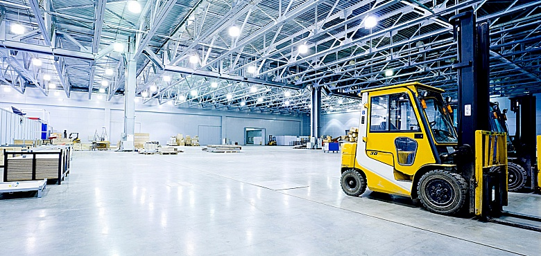 Проект автоматизации и модернизации освещения складского комплекса