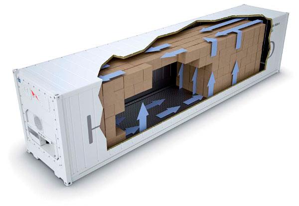 Использование рефконтейнера в качестве холодильного склада