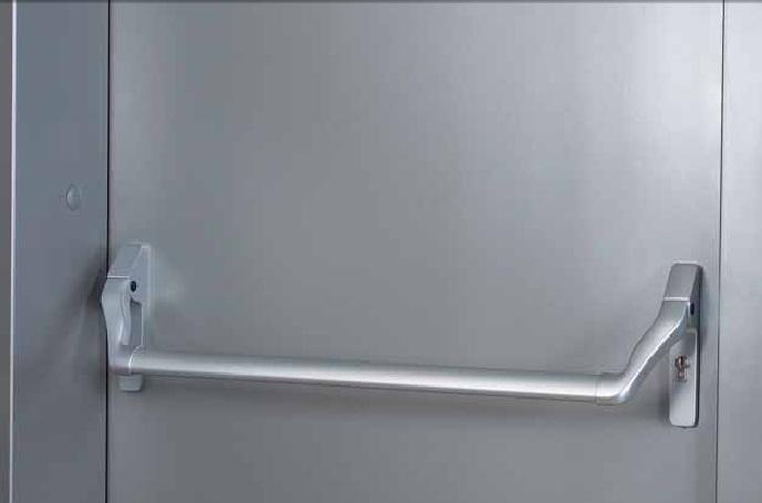 система «антипаника» для складских дверей