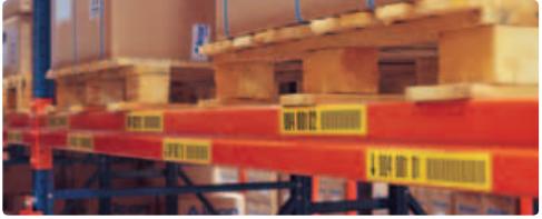Чем и как маркировать стеллажи на складе — решение от компании Brady