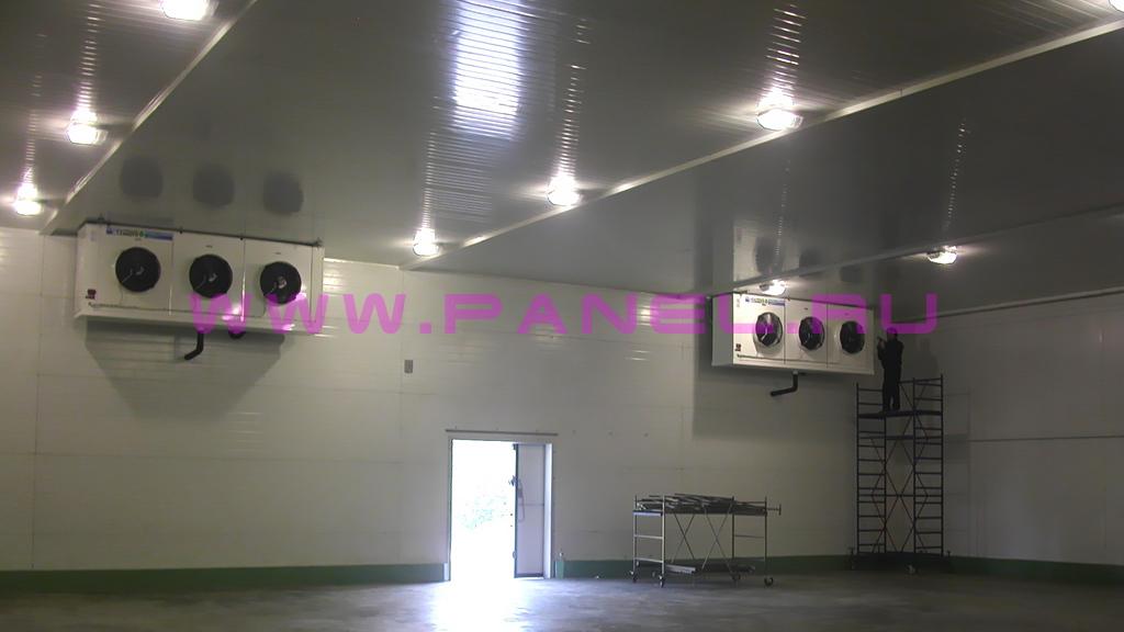 пример готового склада-холодильника по типовому проекту на 1000 тонн