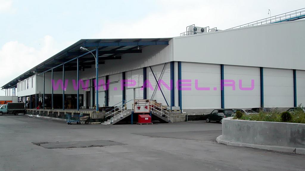Пример готового холодильного склада 5000 т (вид снаружи)
