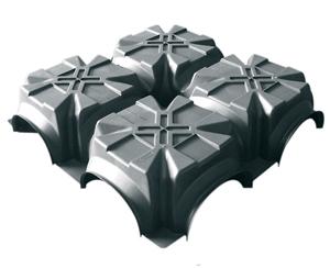 специальная опалубка MODULO SYSTEM для создания вентилируемого фундамента