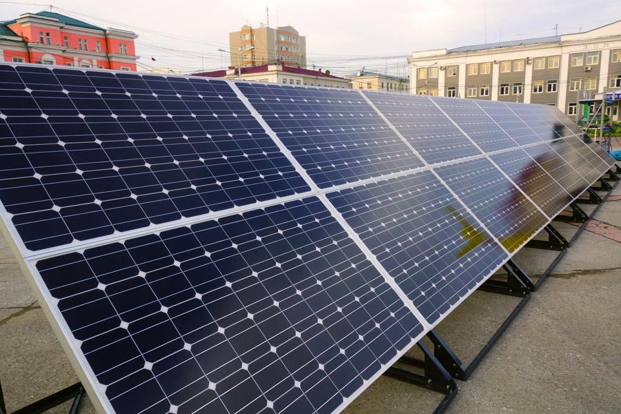 монокристаллические кремниевые фотоэлектрические панели компании Himin Solar