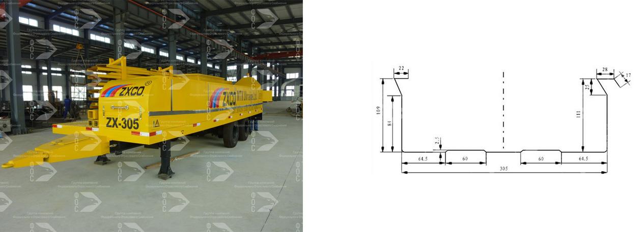 Оборудование для производства арочного профнастила для ангаров (производство Китай)