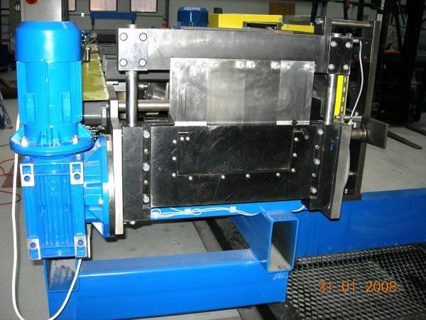 PR-600U - вид гильотины с приводом
